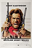 Filmposter Clint Eastwood, The Outlaw Josey Wales,