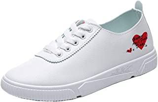 JOJONUNU Women Lace Up Office Shoes