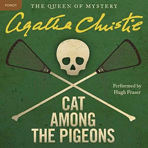 Cat Among the Pigeons audiobook cover art