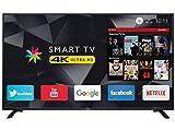 trevi uhd 5002 smart televisore smart tv led 4k ultra hd 50 con decoder digitale dvbt-t2 e satellitare dvbs-s2, sistema operativo android, risoluzione max 3840 x 2160 dpi ultra hd