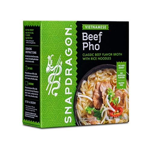 Snapdragon Vietnamese Pho Soup Bowl, 2.1 oz (Pack of 6)
