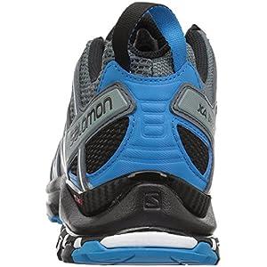 Salomon Men's XA PRO 3D Trail Running Shoe, Stormy Weather/Black/Hawaiian Surf, 11 M US