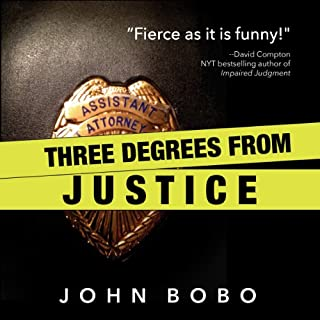 Three Degrees from Justice audiobook cover art