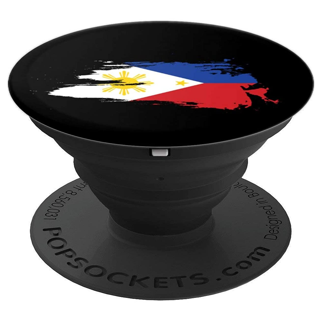 Philippine Flag | Gift Men Women Kids | Retro Design - PopSockets Grip and Stand for Phones and Tablets