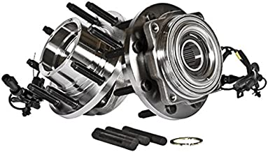 Callahan 515081X2 [2] Pair FRONT Premium [ 8 Lug 4WD 4-Wheel ABS ] Wheel Hub Bearing Assemblies [ Super-Duty Series ]