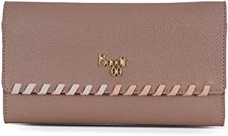 Baggit Women's 3 Fold Wallet (Pink)