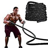 <span class='highlight'><span class='highlight'>Popamazing</span></span> 3.8cm x 9M/15M Sports Training Rope Battle Rope Exercise Rope Battling Power Rope Bootcamp Exercise Fitness Rope Workout Cardio & Core Strength Training