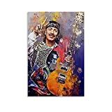 ZUNZUN Carlos Santana Leinwand Kunst Poster und Wandkunst
