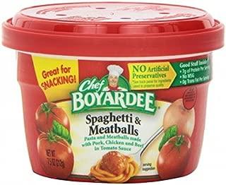Chef Boyardee Spaghetti and Meat Balls 7.5 Oz Cups ( 6 Pack )