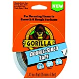 "Gorilla Double-Sided Tape, 1.41"" x 8yd, Gray, (Pack of 1)"