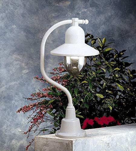 Porto 90 tafellamp Kolarz-lampen in wit | Handgemaakt in Italië | Klassiek dimbaar | Buitenlamp E27