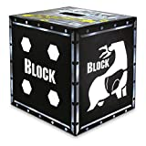 Field Logic Block Vault XXL - 4 Sided Archery Target with Polyfusion Technology BLACK