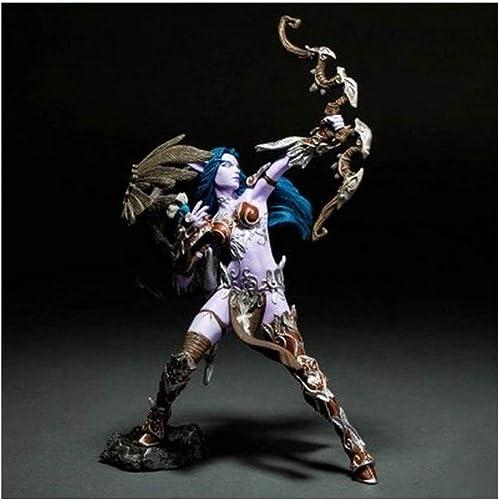 World Of Warcraft Nachtelfenhandandenkengeburtstagsgeschenk-Sammlungsvitrine