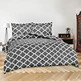 Utopia Bedding 3pc Duvet Cover with 2 Pillow Shams (King, Printed...
