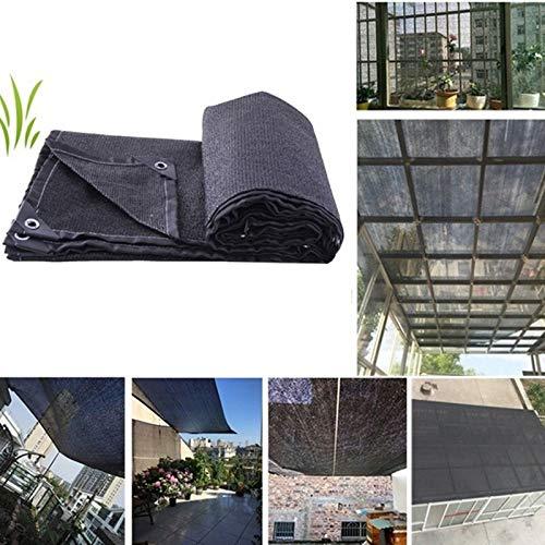 LIZIQI Neta De Sombra, Verano Cubierta del Coche Cubierta Vegetal De Efecto Invernadero del 85% De Oscurecimiento Jardín Al Aire Libre De La Protección Solar De La Protección Solar Yardas De Tela
