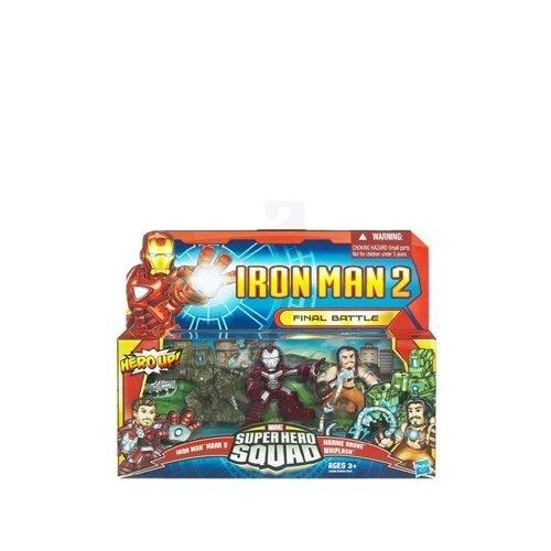 Iron Man II Super Hero Final Battle 3er Pack