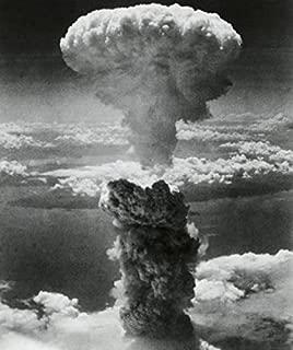 Posterazzi Mushroom cloud formed Poster Print by atomic bomb explosion Nagasaki Japan August 9 1945 (8 x 10)