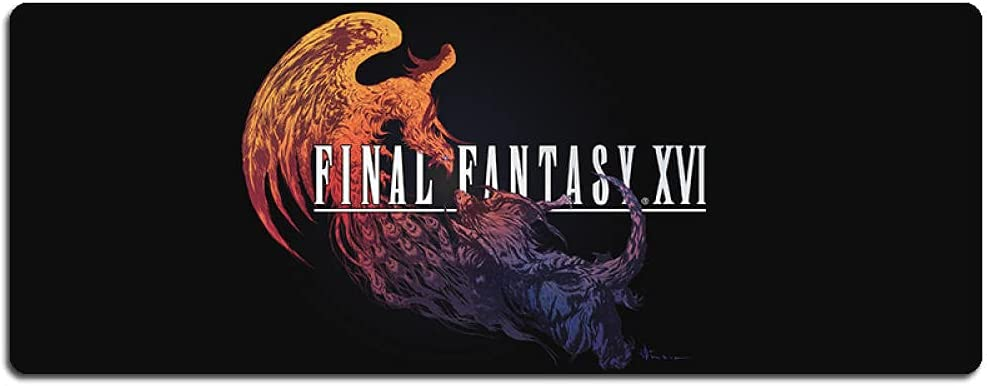 security Final Fantasy Anime Mouse pad Large Non-Slip 900x400x3mm Gamin Direct store