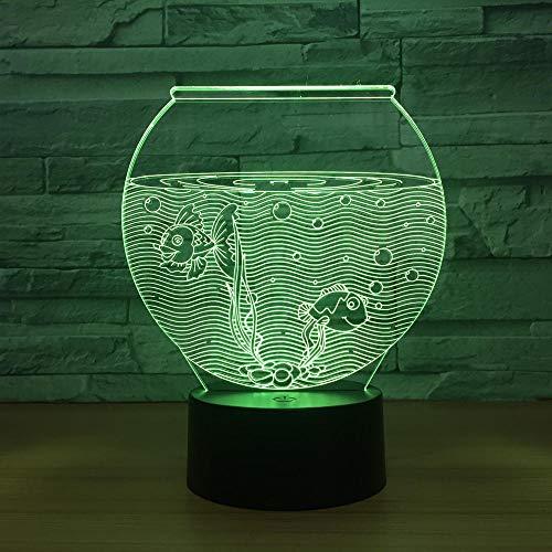 QHZSFF Luz de noche 3D,con ABS Base & Cargador usb,16 colores Lámpara de decoración Cambio - Regalo perfectos para niños(Bañera)