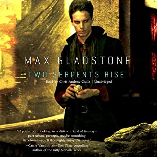 Two Serpents Rise audiobook cover art
