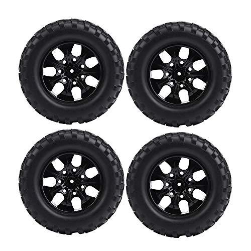Zouminy 4 stuks 1:10 RC wiel banden rubberen banden voor hsp redcat overstappen vrachtwagen terreinwagen