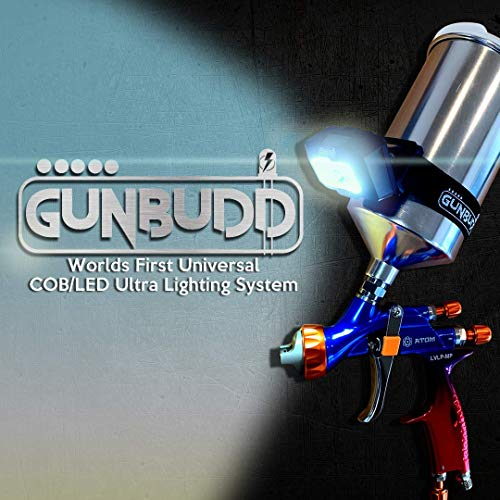 GunBudd New Universal Automotive Spray Paint Gun COB/LED Ultra Lighting System
