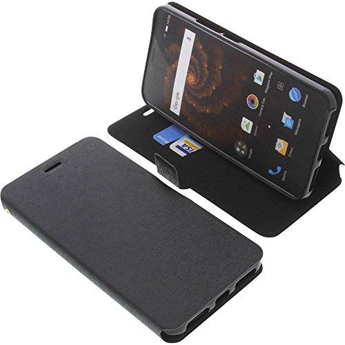 foto-kontor Tasche für Allview X4 Xtreme Book Style schwarz Schutz Hülle Buch