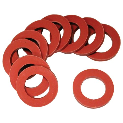 Danco 80787 Round Hose Washer, For Use With Washing Machines, 3/4 in ID X 1 in OD, 5/8 in Washer, 1/8 in Thickness, Black