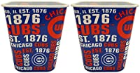 "Baseball Cubs Snack Buckets - 7""x6.5""- Perfect for Game Watching, Movie Watching, or Use as a Storage Bin!"