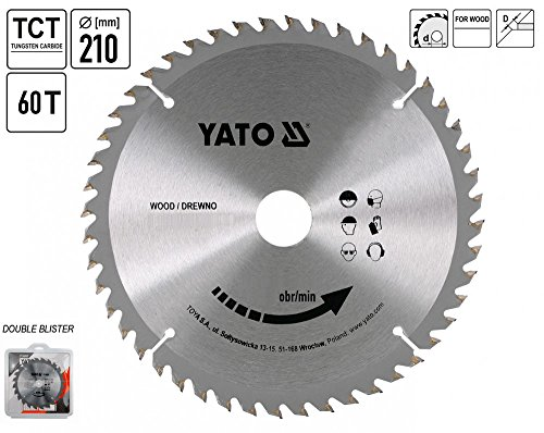 TCT BLADE FOR WOOD 210X60X30 MM
