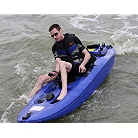 4 stroke engines gasoline powered jet kayak motorized canoe shipped by air 55 km/h professional high tech exhaust system. 1 fighter pilot type controls, jet powered, really fast, great handling