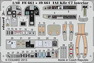 Eduard 1:48 IAI Kfir C7 Interior S.A. Color PE Detail Set for AMK #49661