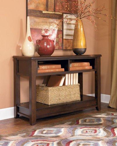 Hot Sale Medium Brown Console Sofa Table - Signature Design by Ashley Furniture