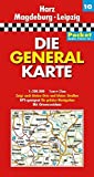 Die Generalkarte Pocket Harz, Magdeburg, Leipzig 1:200 000 - GENERALKARTEN POCKET MAIR