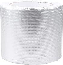 VILLCASE Aluminiumfolie Tape Waterdicht Professionele 5Cmx5m Prefect Voor Dak Dorpel Pijpleiding Zachte Buis Metaalreparat...