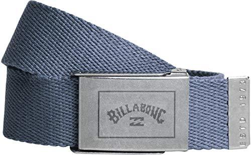 BILLABONG Cintura a nastro in cotone intrecciato apribottiglie ~ Sergeant navy