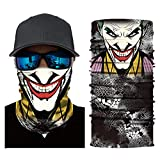 PAWANG V para Vendetta Anime Skull Venom Máscara de Pesca Senderismo Esquí Headwear Bandanas sin Costuras Diadema A Prueba de Viento Deporte Bufanda Cuello Polaina