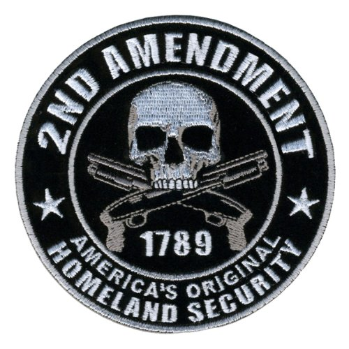 Hot Leathers PPA5950 Homeland Security 2nd Amendment Support Patch (4