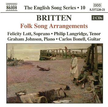 Britten: Folk Song Arrangements (English Song, Vol. 10)