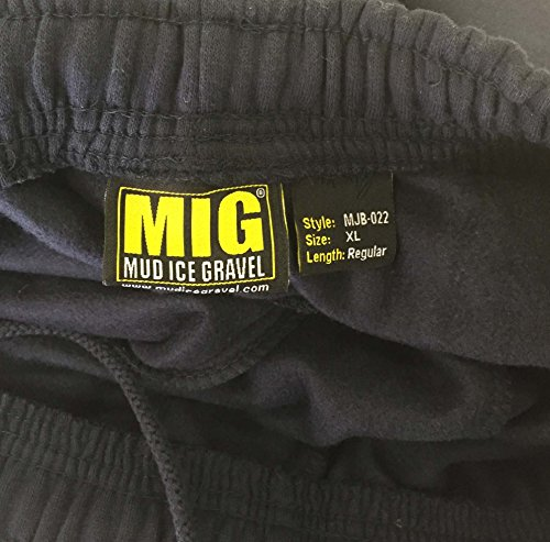 Mens Tracksuit Jogging Bottoms Size S to 5XL by MIG - Sports Athletic Leisure Work (3XL - 50/52 Waist, Charcoal)