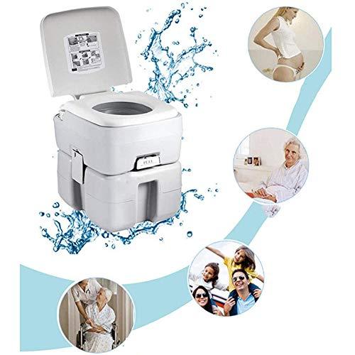 Yunjie Portátil Cámping Inodoro 20L Viajar WC Extraíble Químico soporta 200 kg...