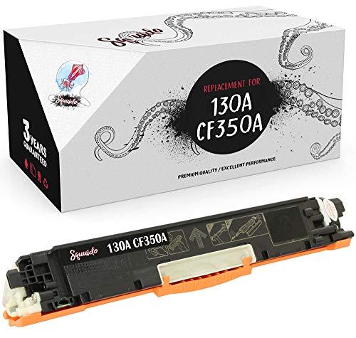 Squuido Cartucho de tóner Negro CF350A 130A Compatible para HP Color Laserjet Pro MFP M176n M177fw | Alto Rendimiento 1300 páginas