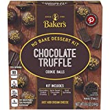 Baker's Chocolate Truffle Cookie Balls No Bake Dessert Kit (8.6 oz Boxes, Pack of 6)
