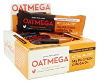 Boundless Nutrition Oatmega-3TM Chocolate Peanut Crisp -- 12 Bars by Boundless Nutrition