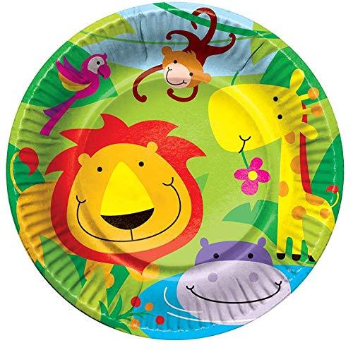 Concept4u - Set per feste bambini 8 Party Plates