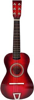 Foxom Guitare Enfant - 23 Pouce Enfant Guitare en Bois avec 6 Cordes - Instrument de Musique Jouet pour Enfant Garçon Fill...