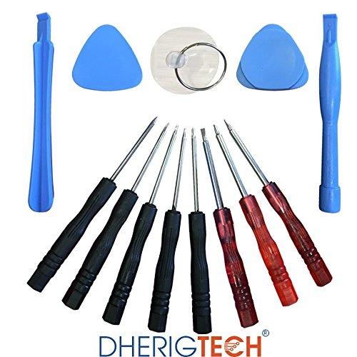 DHERIGTECH Ersatz-Display Tool Kit & Schraubendreher Set für Tesco Hudl 2Tablet