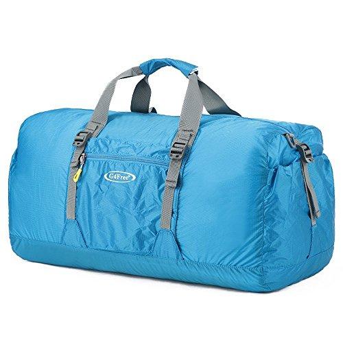 G4Free 45L Wasserdicht Faltbare Sporttasche Leichte Reise Seesack Duffel für Damen und Herren