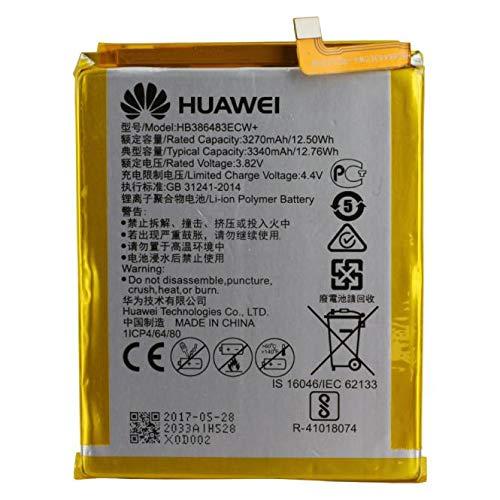 Batería original Huawei P8 Lite 2017 HB366481ECW PRA-LX1 LX3 LA1 OEM Interior Bulk Correero Repuesto Interior Akku Genuine para móvil
