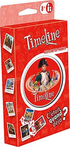 Timeline Histoire de France (Edition 2021) - Asmodee - Jeu de société - Jeu de cartes